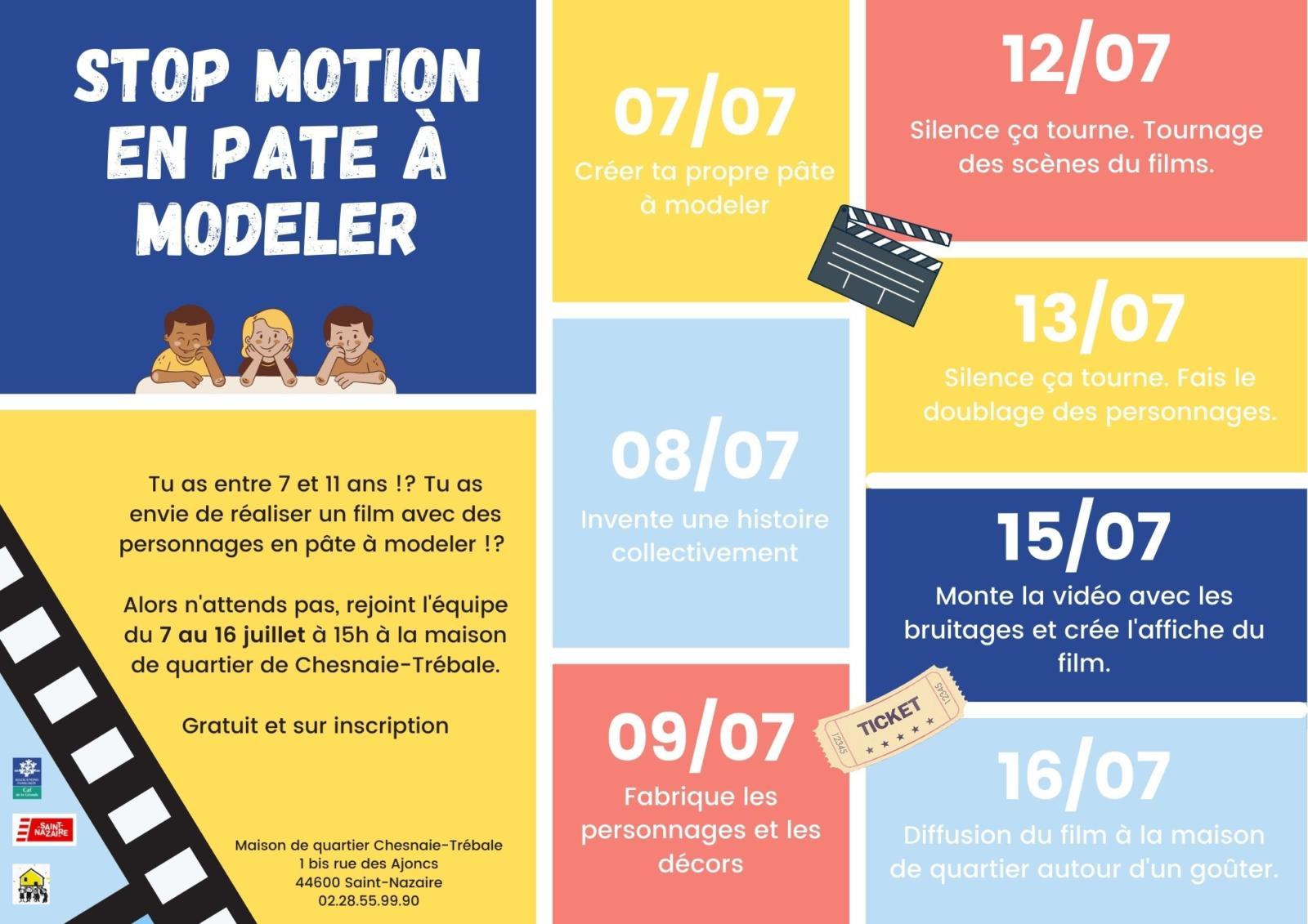 Stop motion en pate à modeler